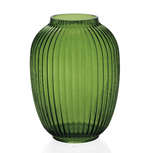 vase verre vert un vase ideal pour metre en valeur vos bouquets. Black Bedroom Furniture Sets. Home Design Ideas