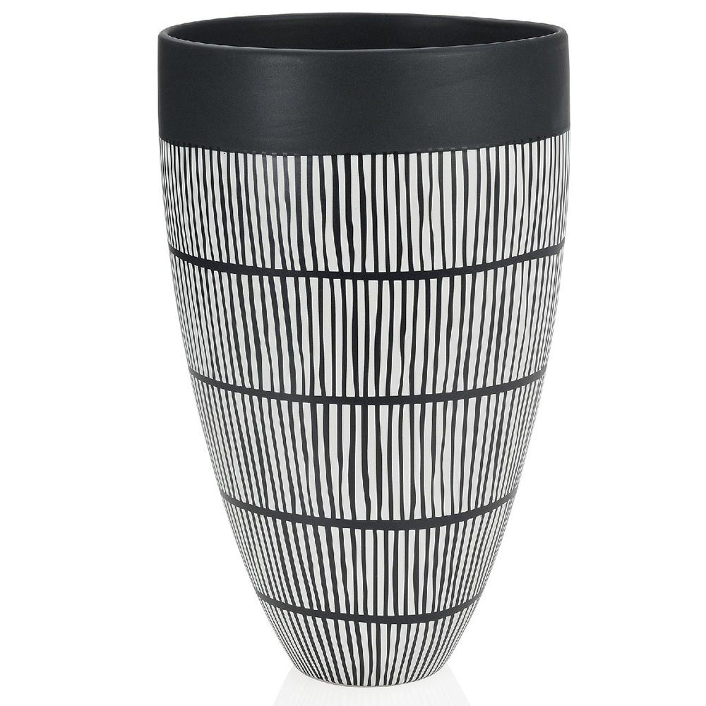 Vase en céramique tribal gm
